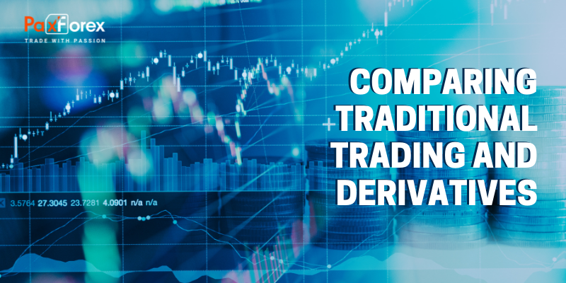Comparing Traditional Trading and Derivatives