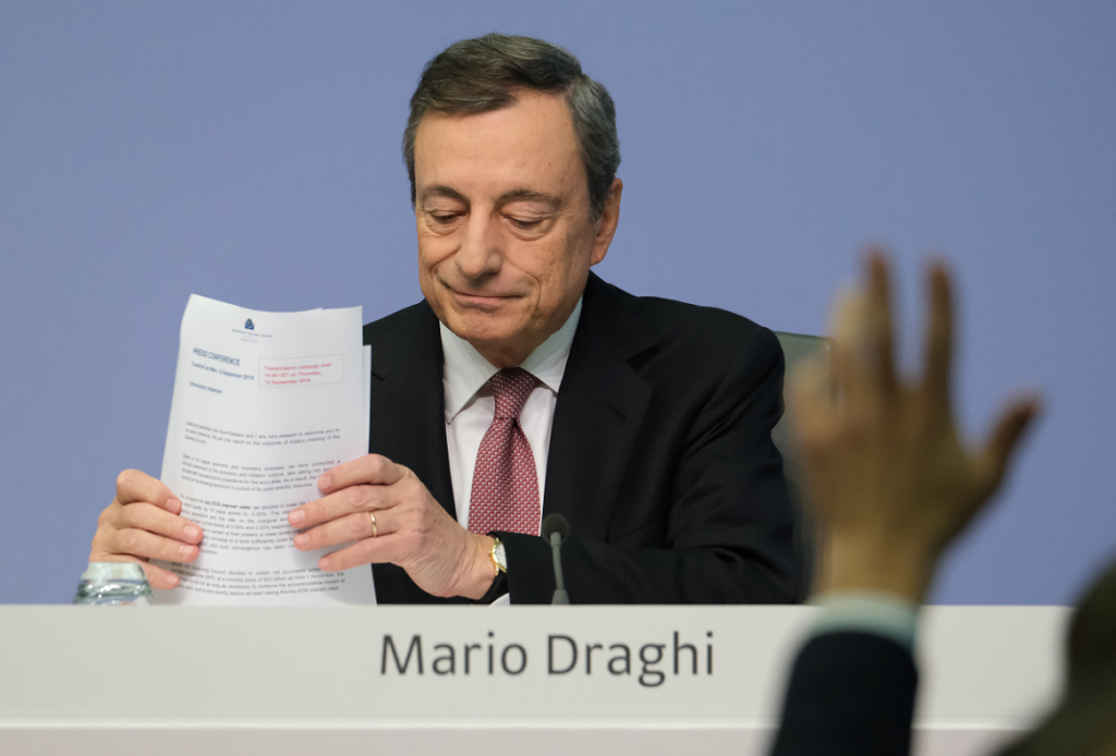 Eurozone PMI Data and Draghi Exit