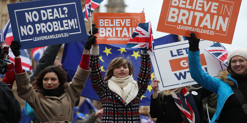 UK PM Johnson Tells EU Open to Discuss Irish Border