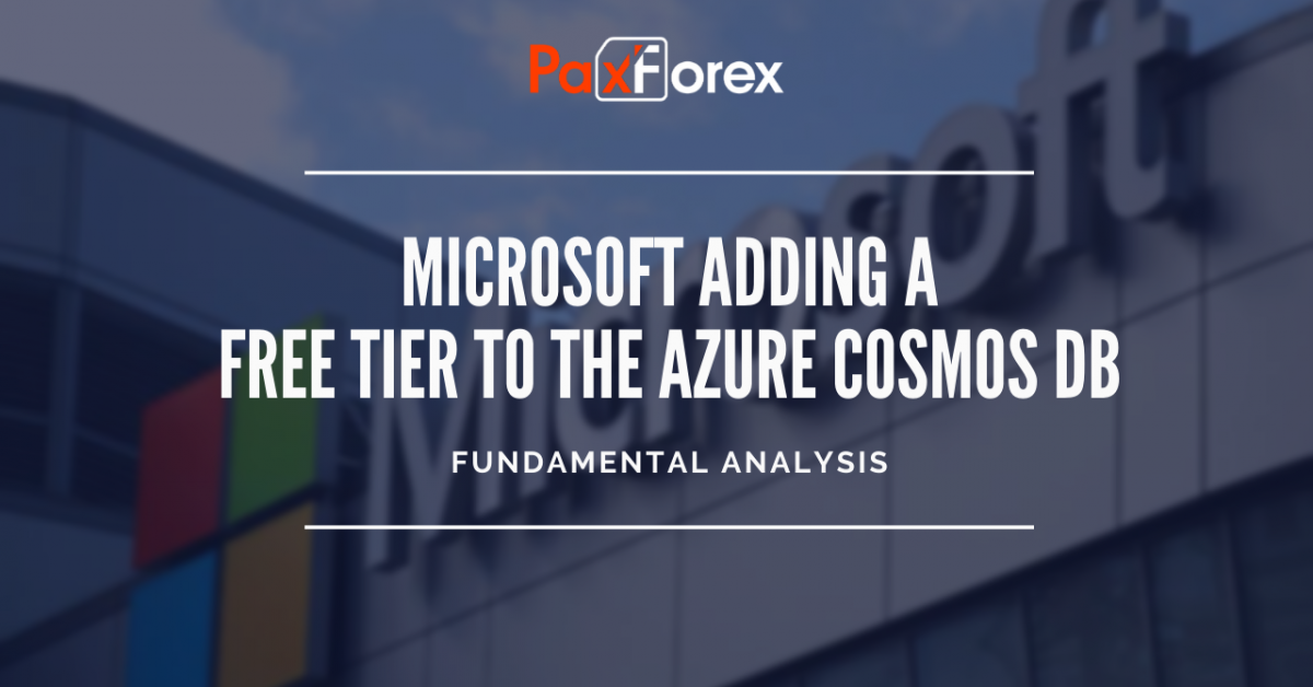 Microsoft adding a free tier to the Azure Cosmos DB