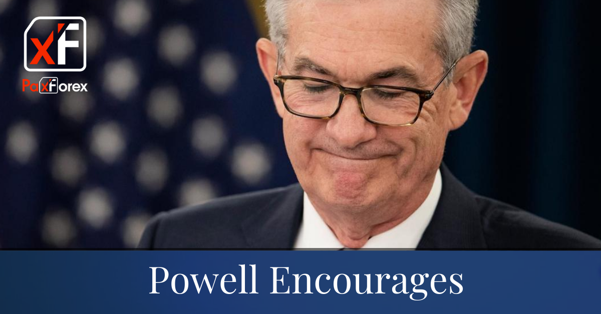 Powell Encourages
