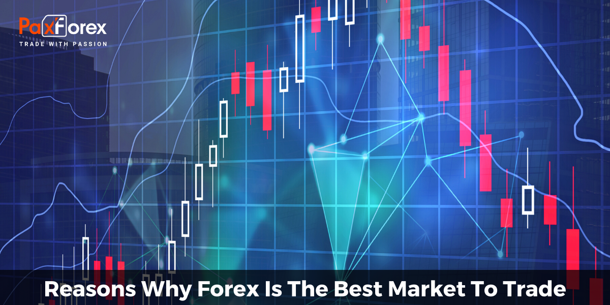 Reasons Why Forex Is The Best Market To Trade