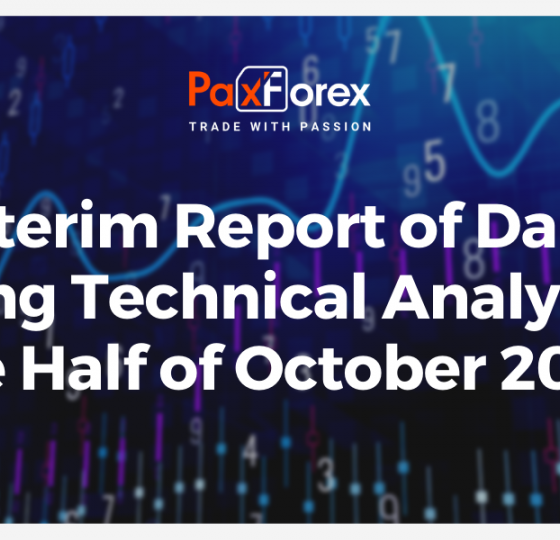 Interim Report of Daily Trading Technical Analysis for Half of October 20201