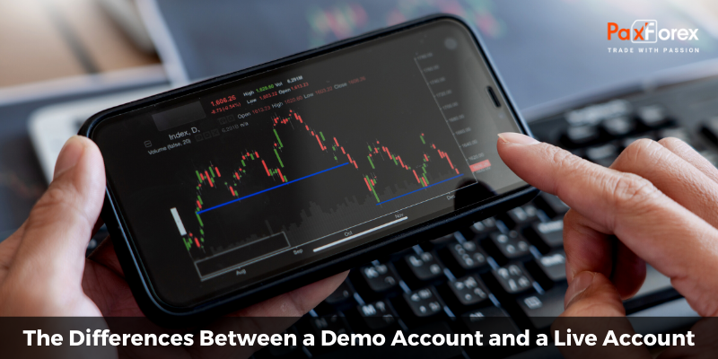 The Differences Between a Demo Account and a Live Account