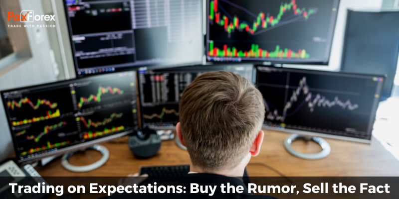 Trading on Expectations: Buy the Rumor, Sell the Fact