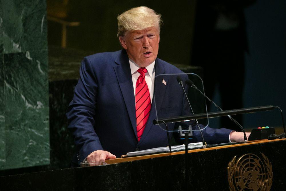 Donald Trump in UN