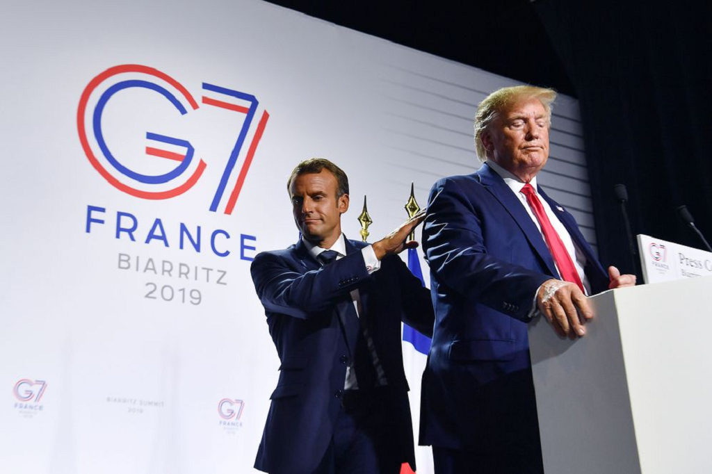 The G-7 Summit in France
