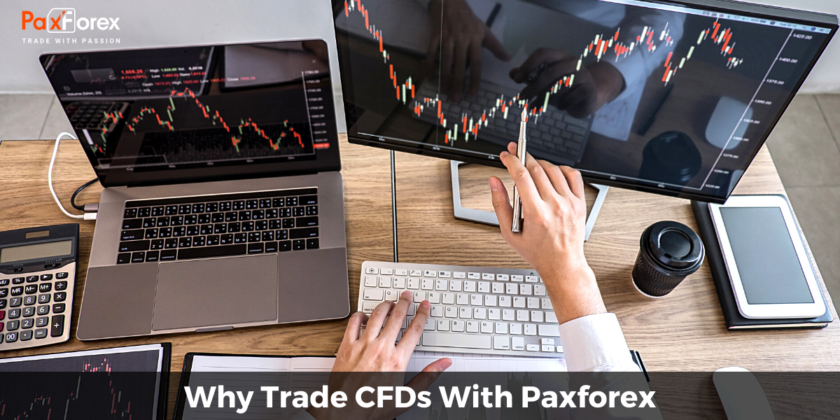 Why trade CFDs with PaxForex